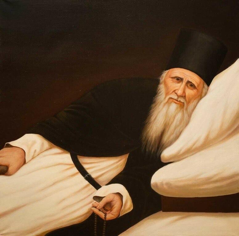 Преподобный Амвросий Оптинский (Гренков + 1891)