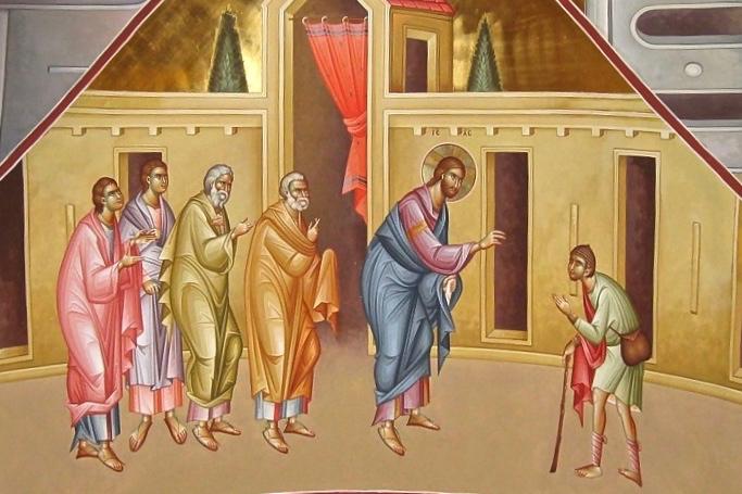 Sermon sur la guérison de l'aveugle de Jéricho