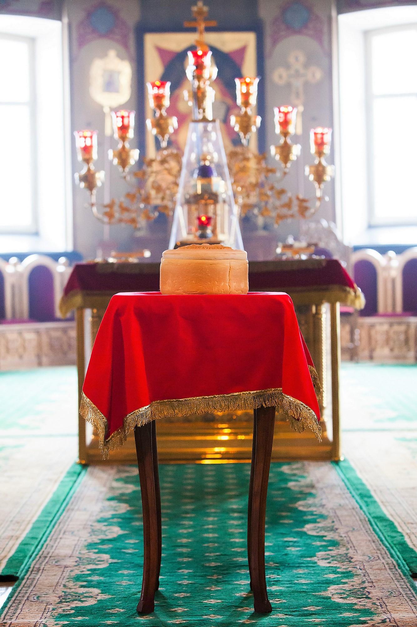 Артос. Правила обращения с великой святыней